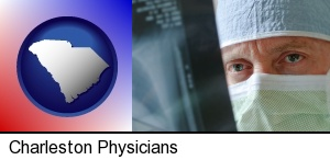 a physician viewing x-ray results in Charleston, SC